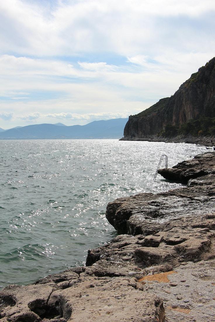 greece nafplio arvanatia beach