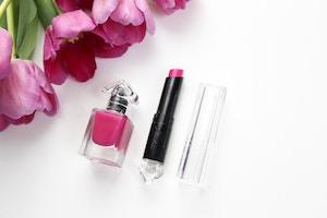 guerlain la petite robe noire lipstick and nail polish