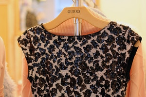 guess holiday 2014 preview sequin dress