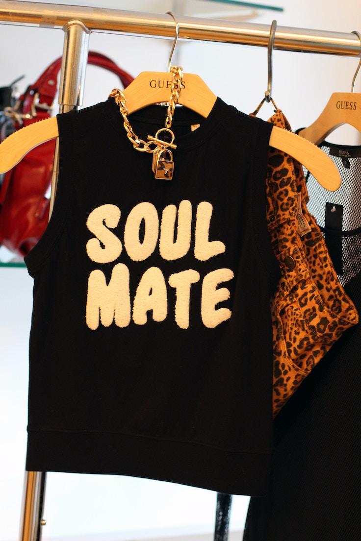 guess holiday 2014 soul mate tshirt