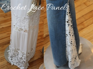 guess summer 2014 crochet panels