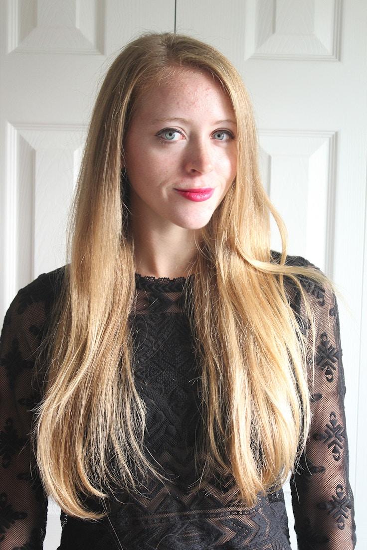 hair straightener results