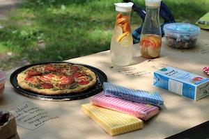 high park picnic set up
