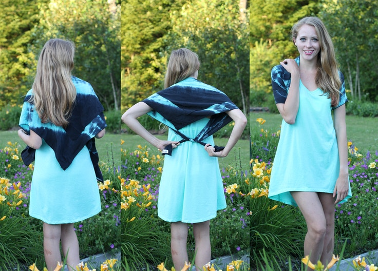 how to make a bolero from a silk scarf
