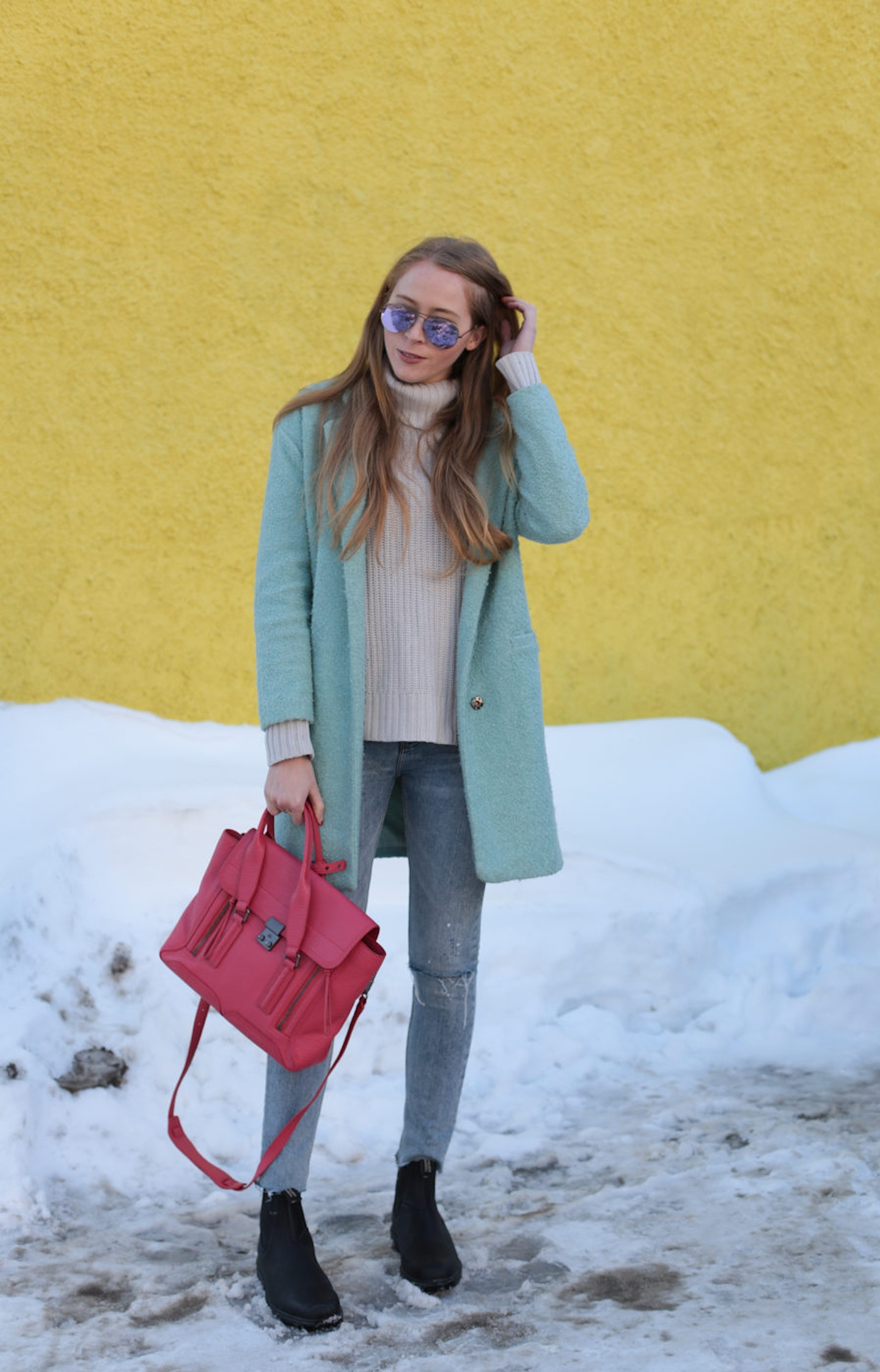 How to wear Blundstones and look chic
