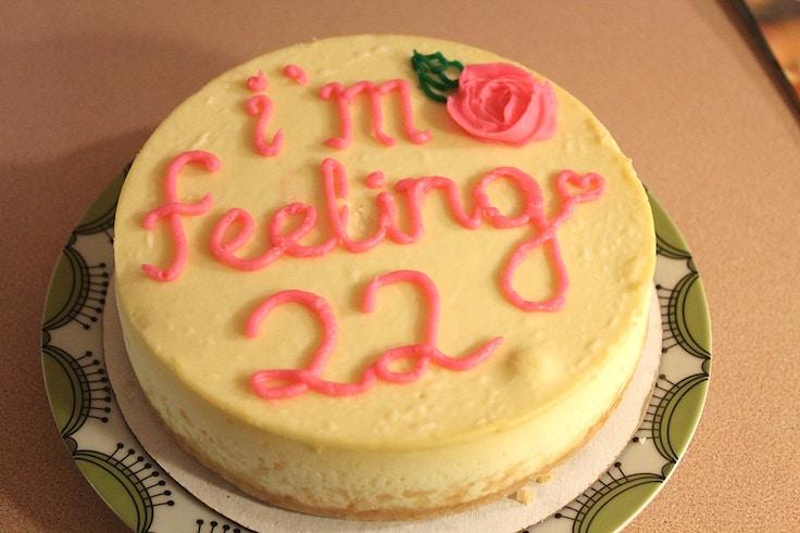 im feeling 22 birthday cake