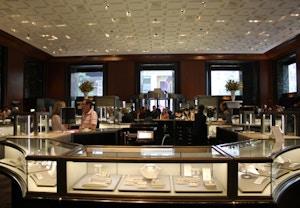 inside tiffany new york store