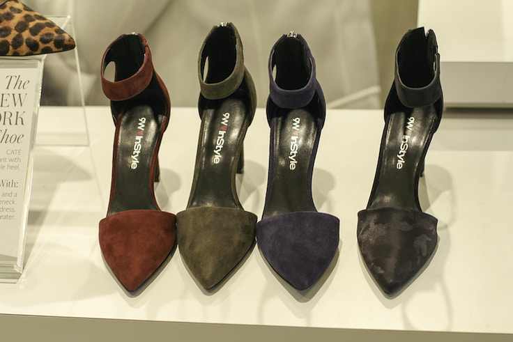 instyle for nine west fall 2014 suede pump