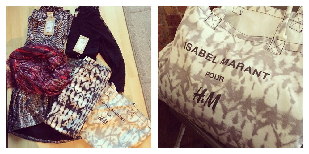 Isabel Marant for H&M Shopping Haul & Review