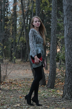isabel marant for h&m styled by blogger
