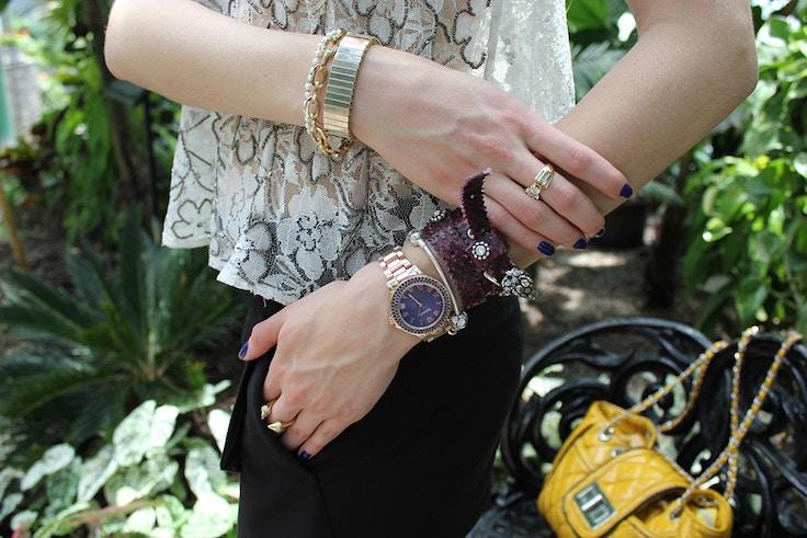 jewelry and snake bracelet