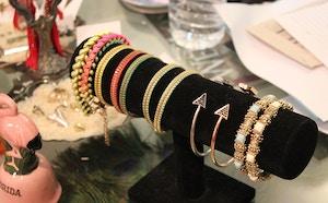 jewelry bracelets display