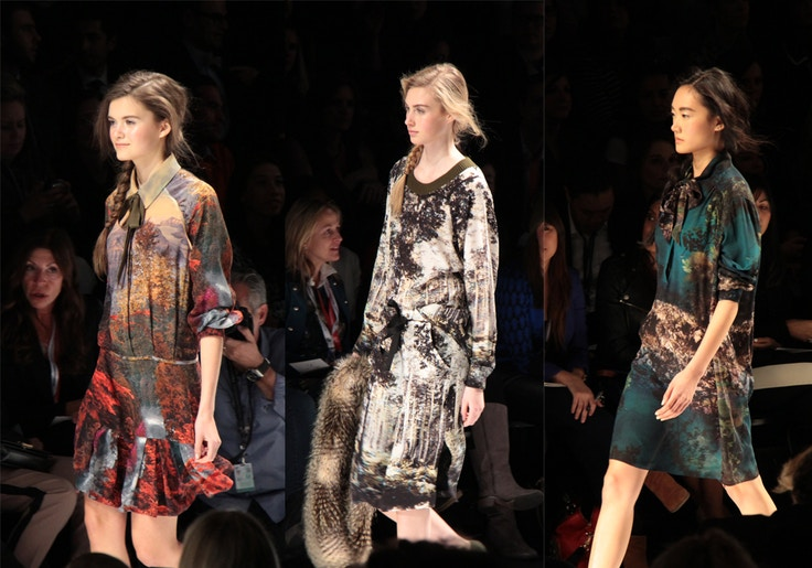 joe fresh fall 2014 printed dresses