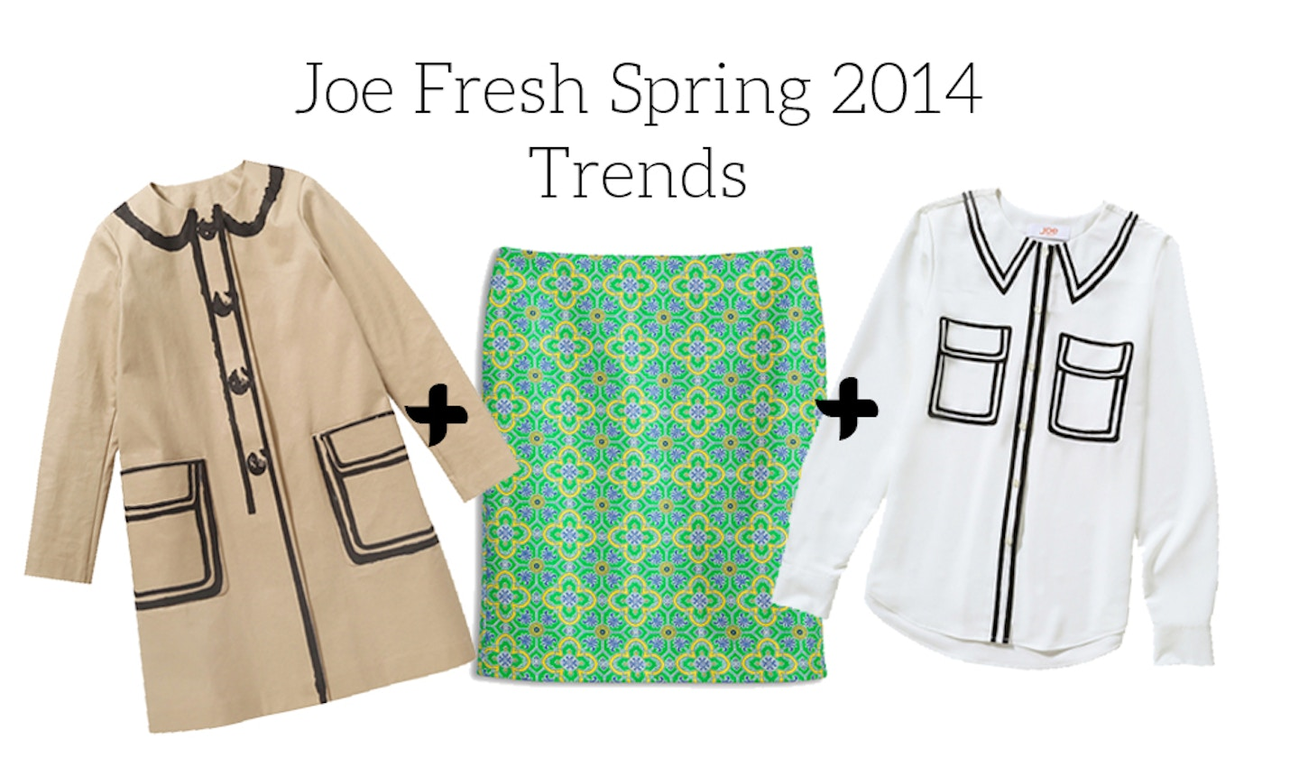 Joe Fresh Spring 2014 Trends + Outfit Ideas