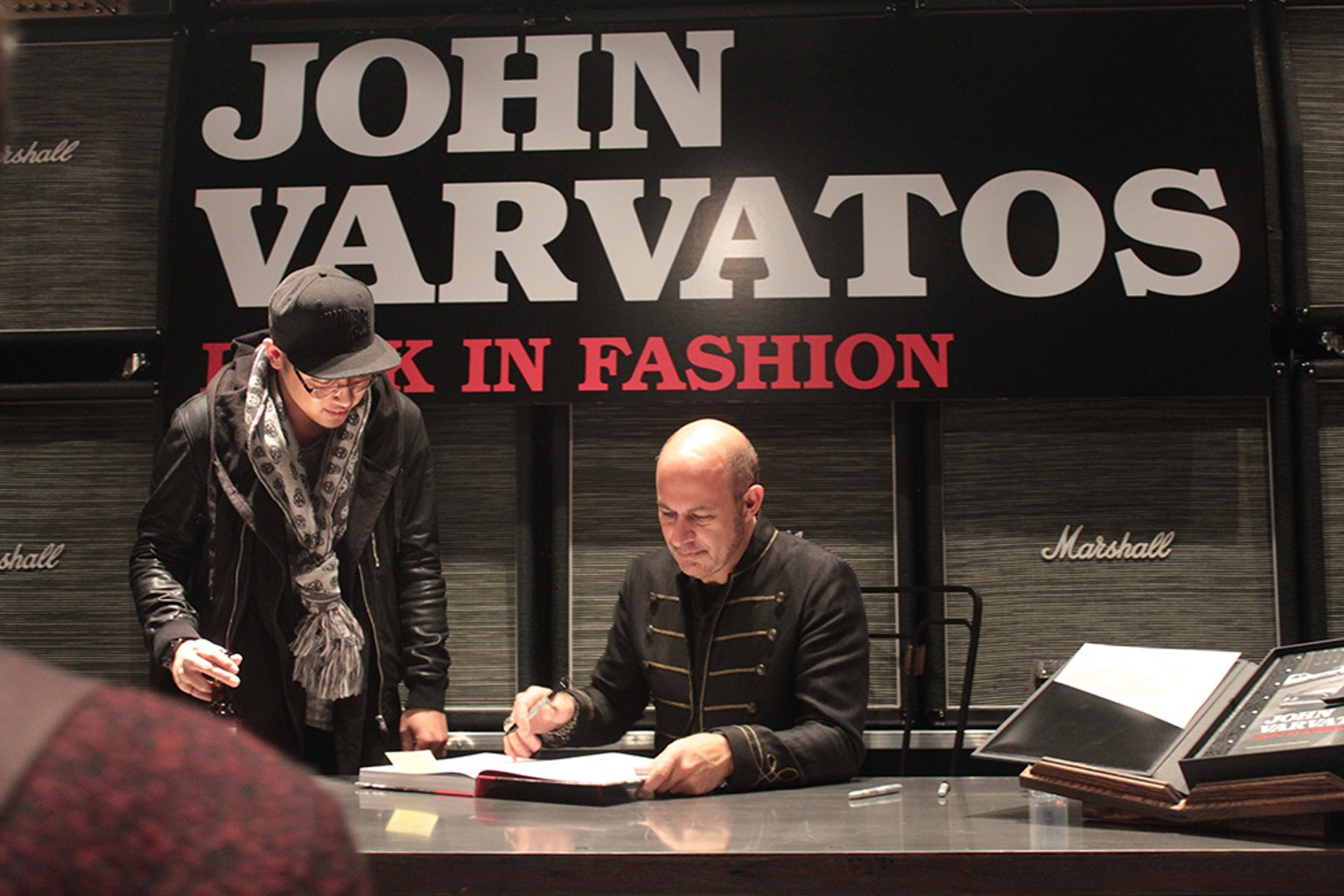 John Varvatos Rock In Fashion book signing and Yorkdale store opening