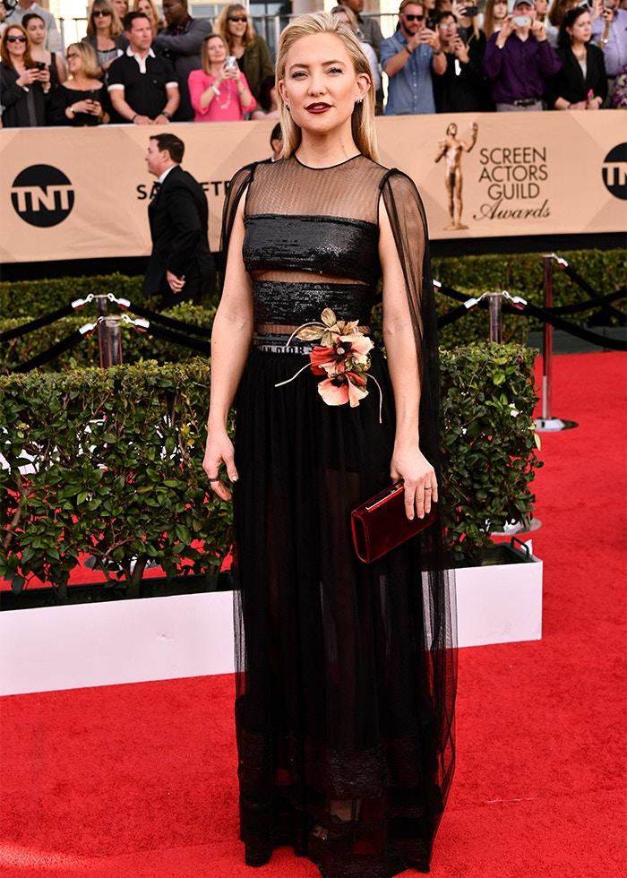 Kate Hudson Dior SAG awards 2017