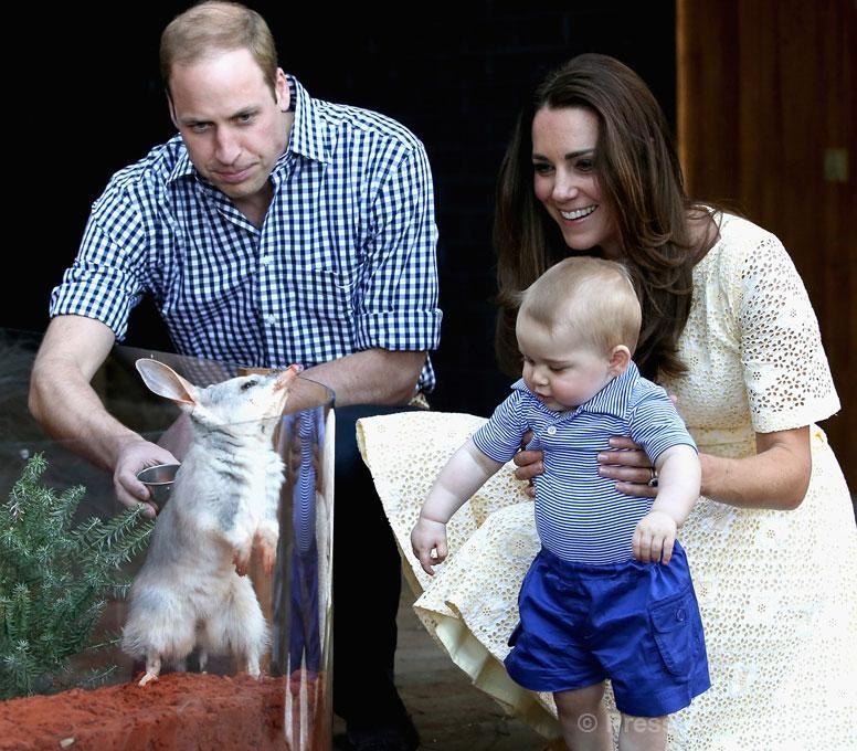 kate middleton baby george easter Taronga zoo
