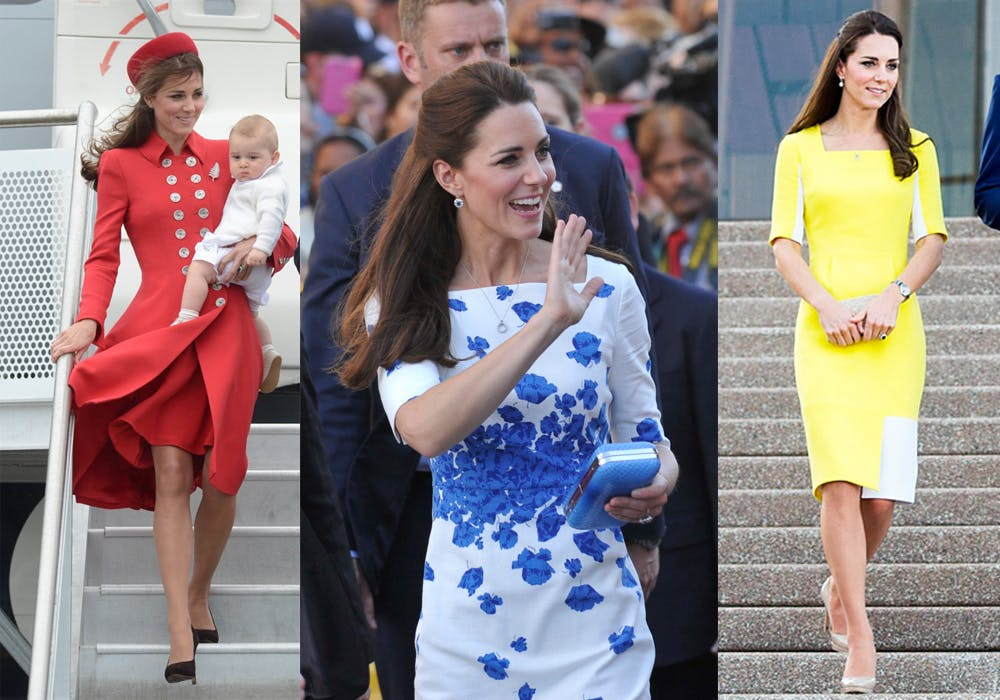 Duchess of Cambridge Kate Middleton's top 10 fashion moments in Australia New Zealand tour