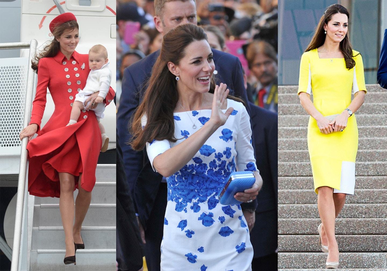 Duchess of Cambridge Kate Middleton's top 10 fashion moments in Australia New Zealand tour
