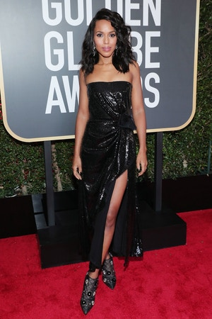 kerry washington golden globes 2018