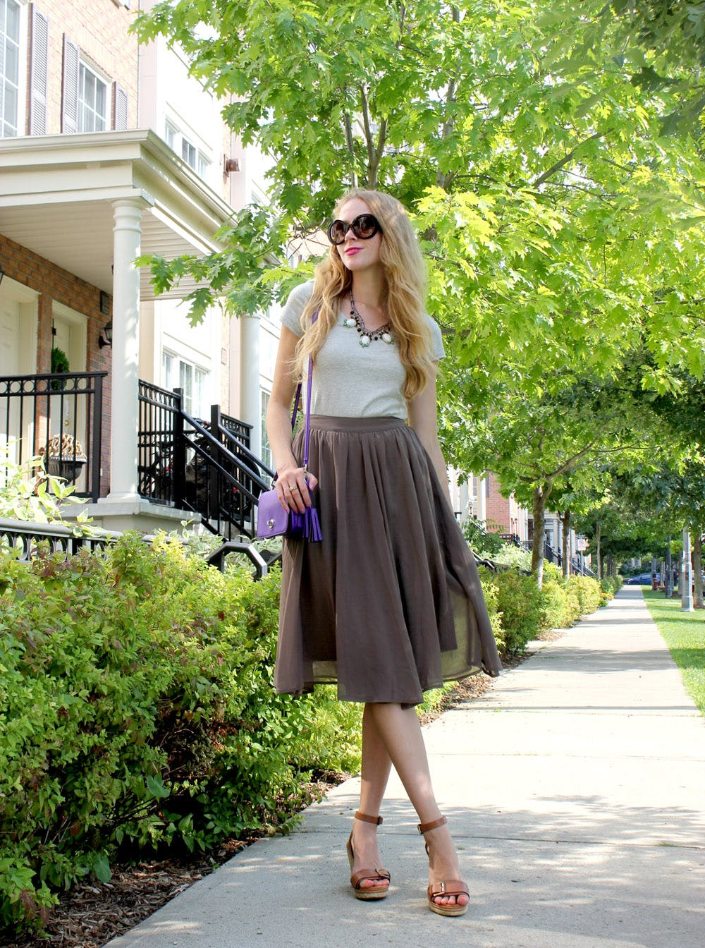 Skirts that go from summer to fall