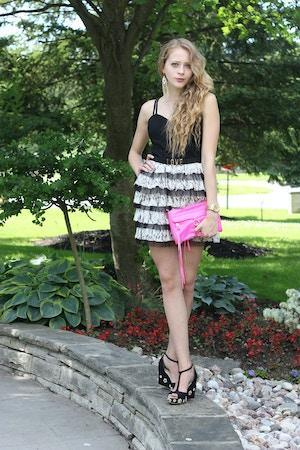 lace dress mini mac