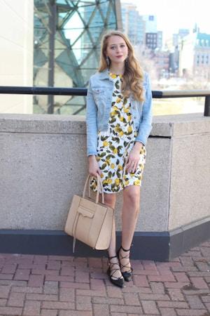 lemon print dress (4 of 11)