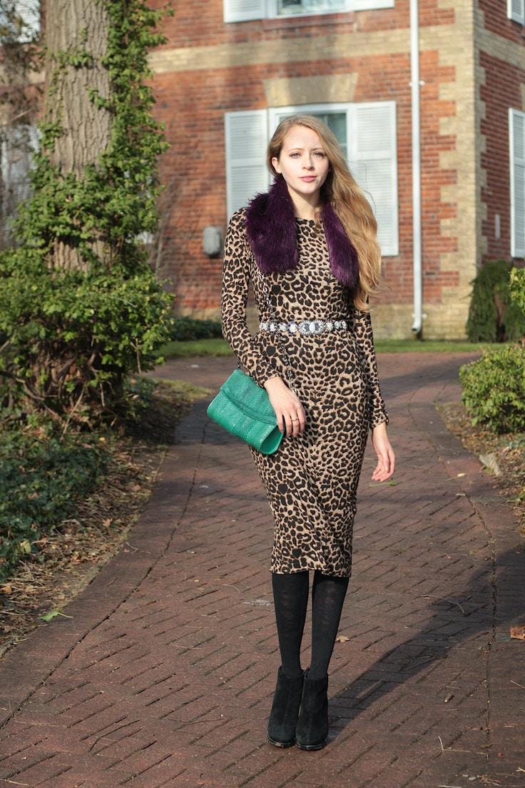 leopard midi