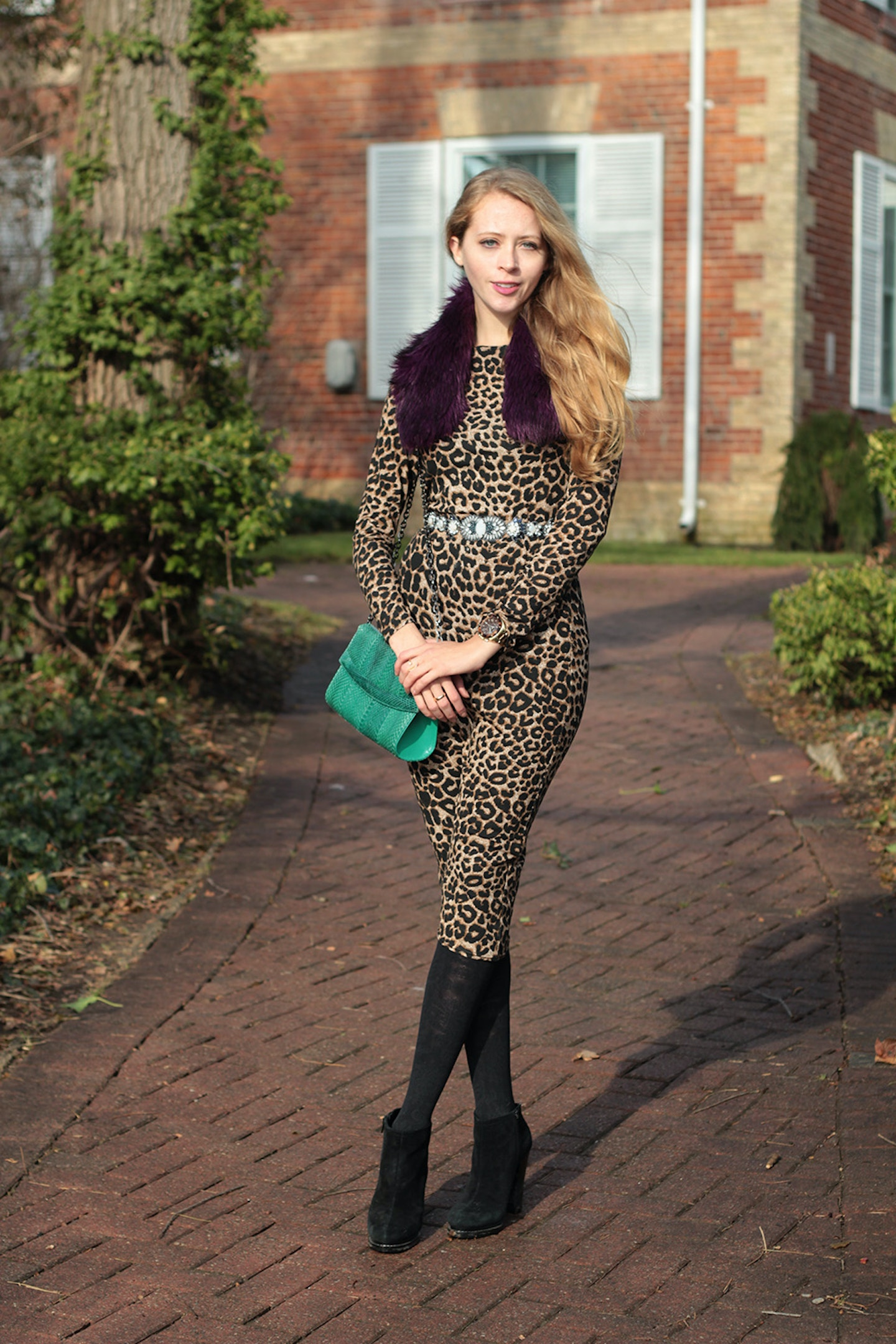 Look Party Ready with a Leopard Midi