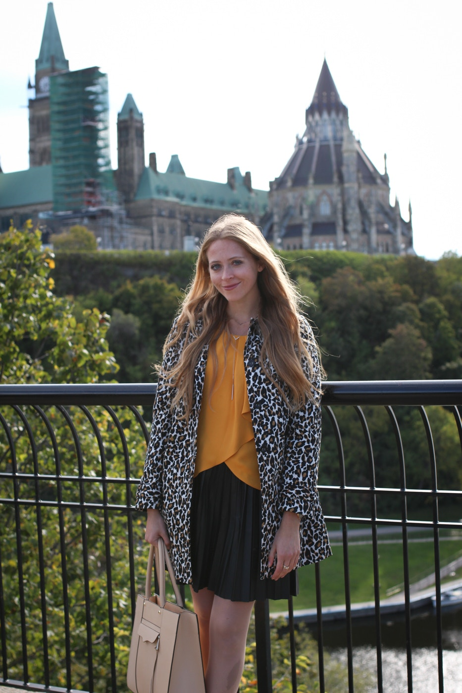 leopard trench coat (15 of 20)