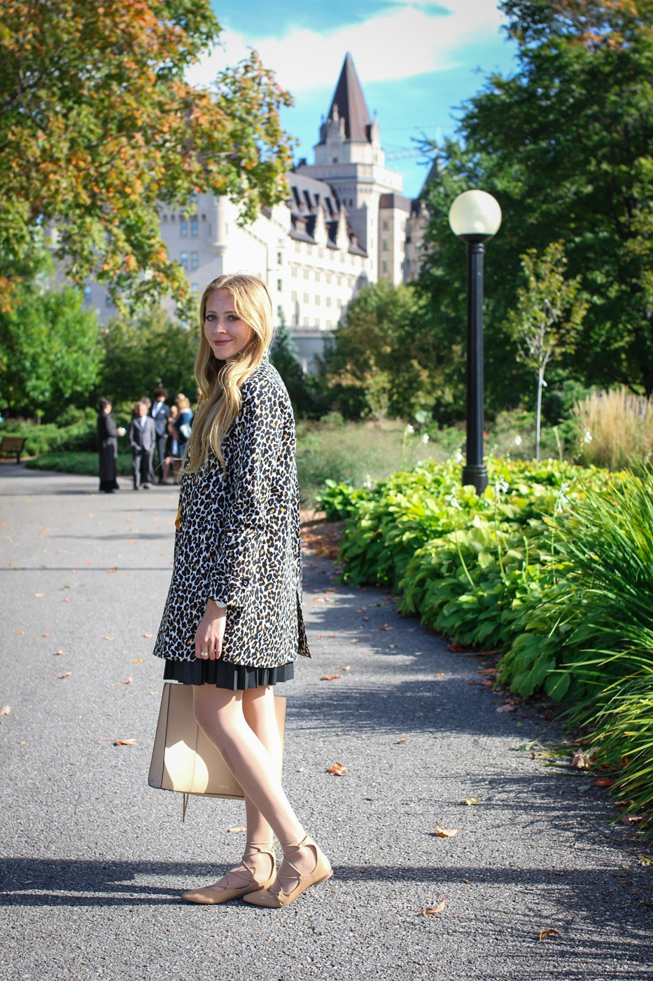 leopard trench coat (8 of 20)