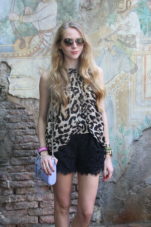 leopard tulip top
