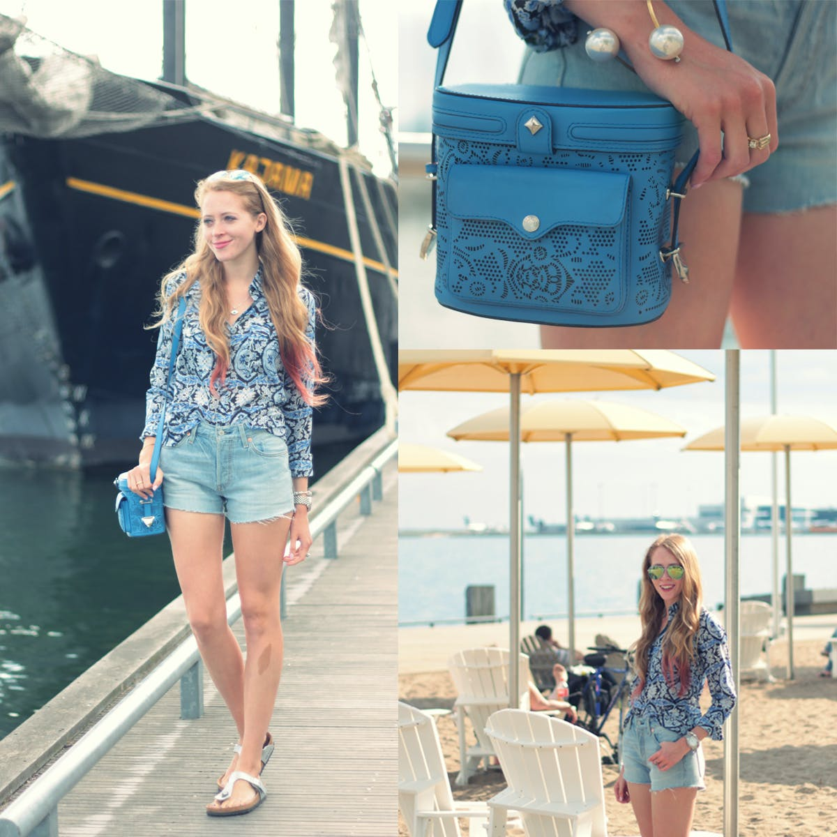Get #Equipped for summer at the Harbourfront with Levi 501 Shorts