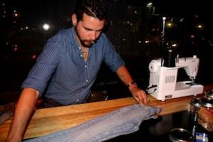 levis jeans diy