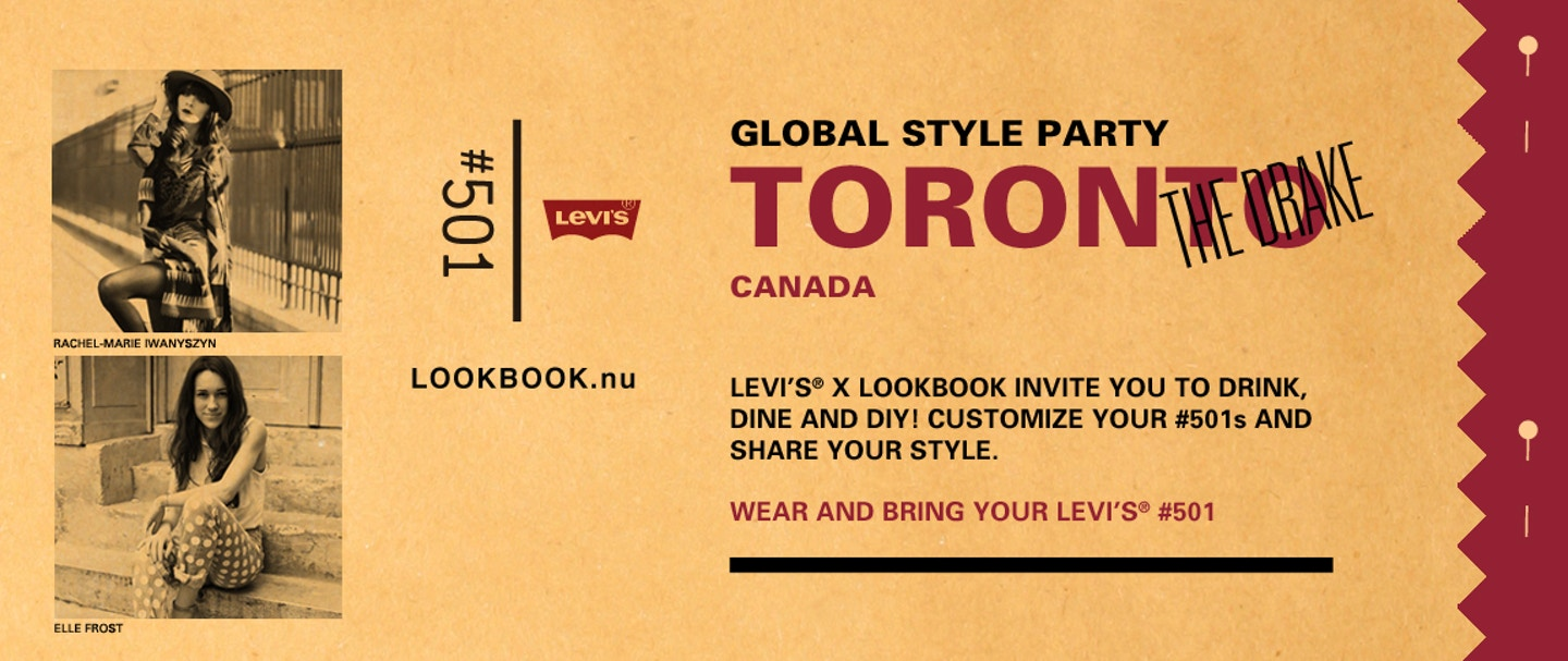 Levi's x Lookbook.nu Global Style Party in Toronto