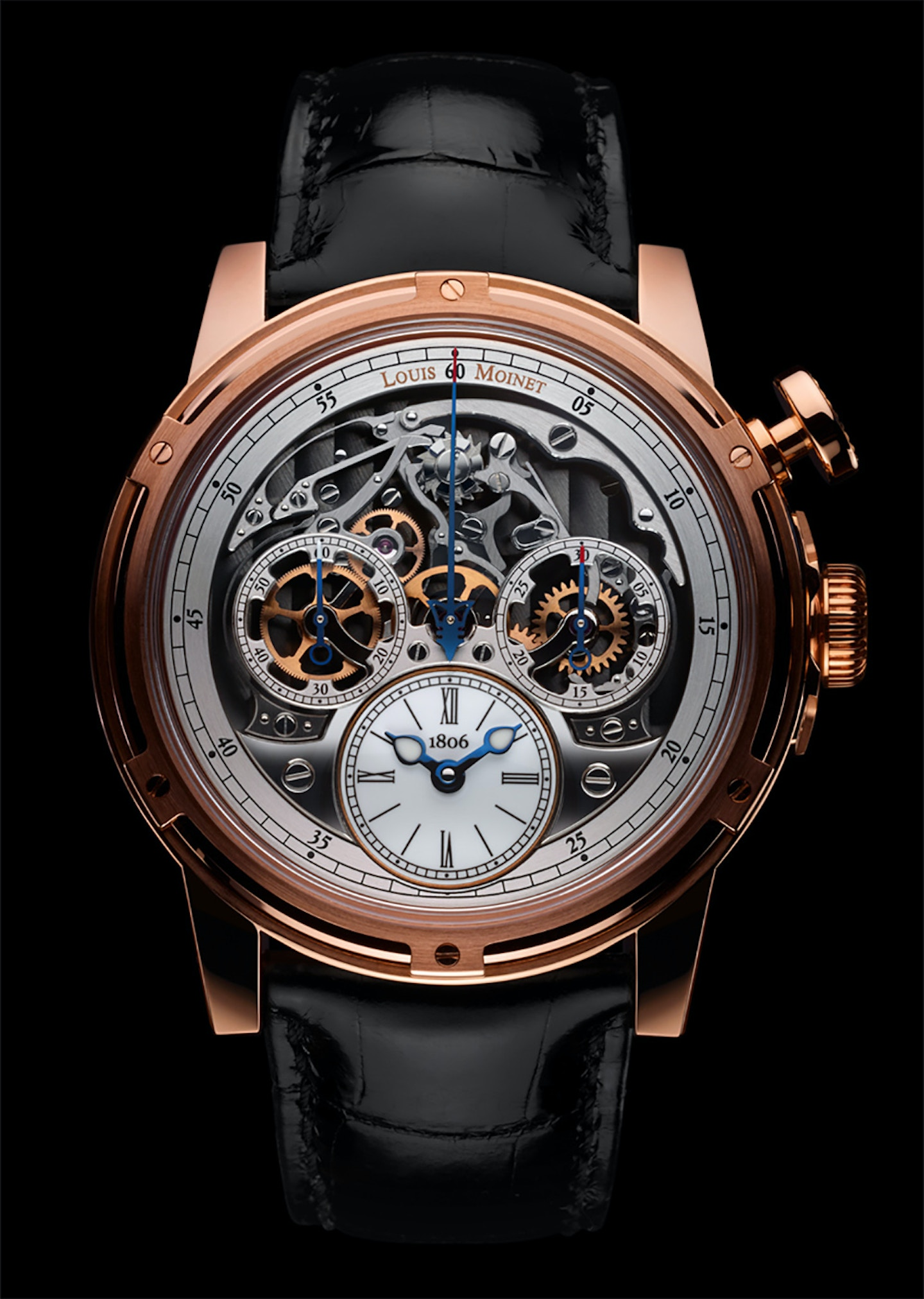 Louis Moinet Memoris celebrates 200 years of the chronograph