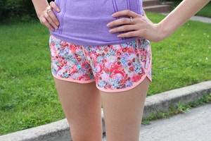 lululemon run speed shorts
