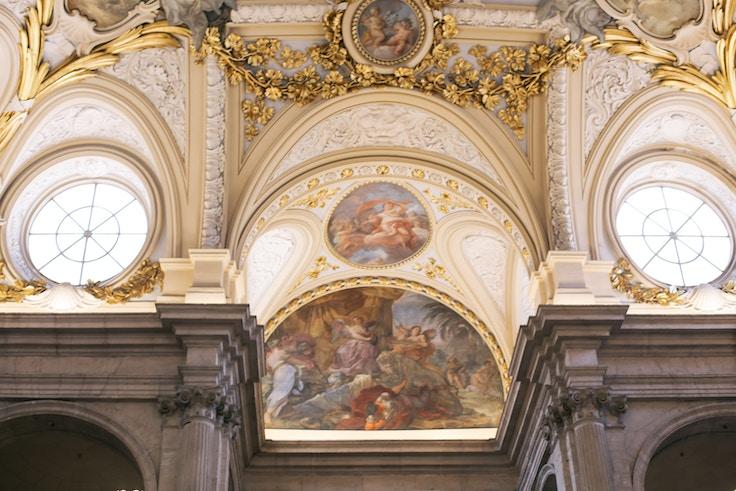 Royal Palace of Madrid Great Hall Fresco