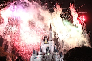 magic kingdom wishes fireworks