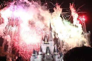 magic kingdom wishes fireworks