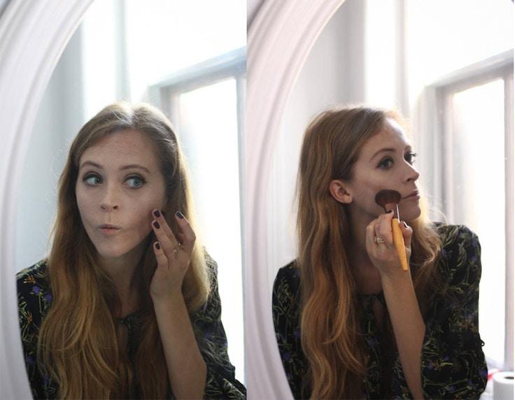 make up for ever pro sculpting face palette