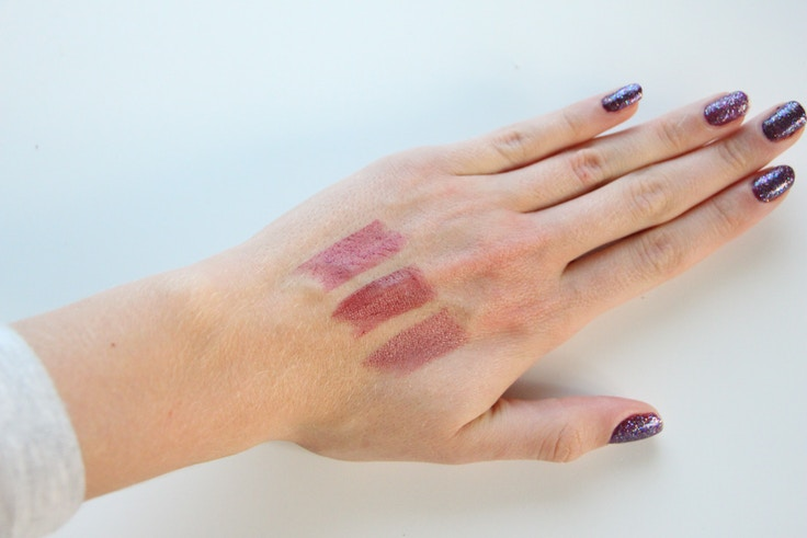mary kay velvet lip creme swatches