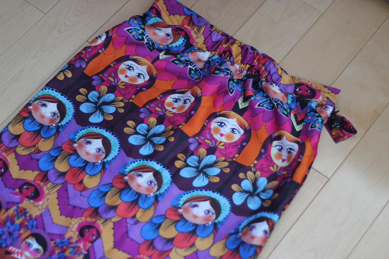 matryoshka russian nesting doll skirt