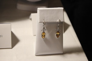 mejuri citrine earrings