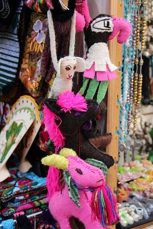 mexican market souvenirs