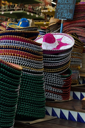 mexican sombreros cancun shopping