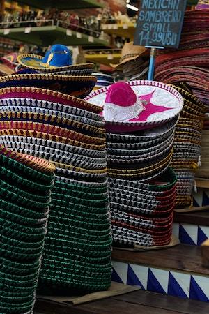 mexican sombreros cancun shopping
