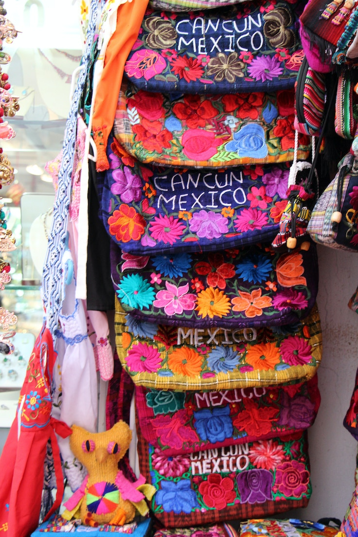mexican woven bags
