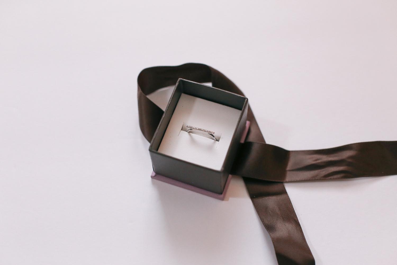 michael hill diamond bar dainty ring
