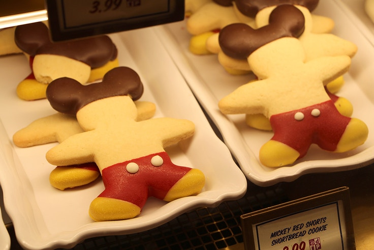mickey mouse short bread